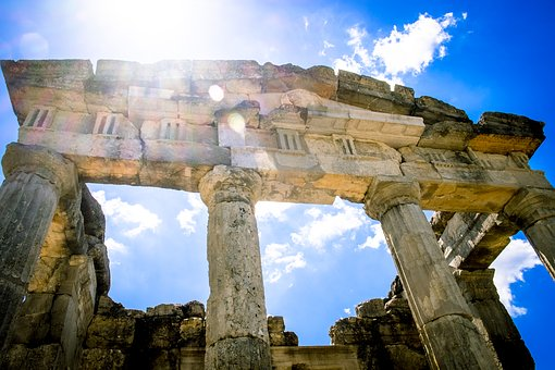 Temple, Ancient, Ruins, Messina, Mausoleum, Greece