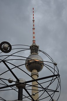 Berlin, Tower, Germany, City, Monument, Building