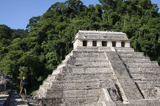 Mexico, Ruins, Maya, Archaeology, Pyramid, Chichen Itza