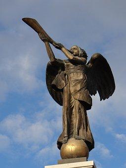 Angel Districts, Vilnius, Sauce, Monument, Figure