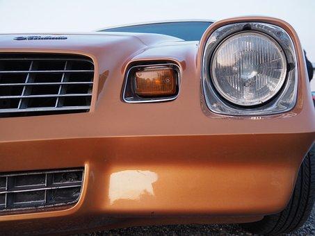 Pontiac, Oldtimer, Us Car, Tail Light, Classic