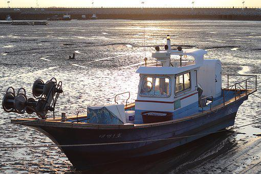 Times, Tidal, Fishing Boat