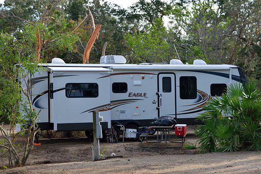 Camping, Travel, Recreational Vehicle, Camper