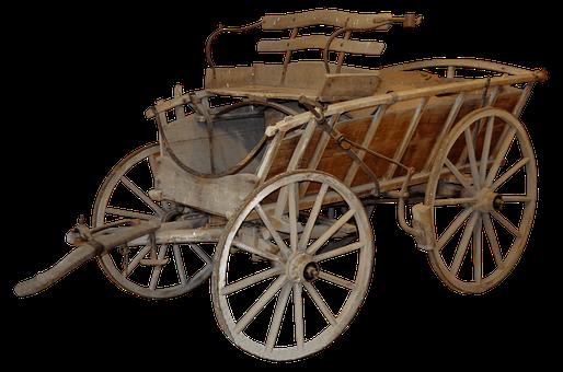 Coach, Old, Rural, Horse Drawn Carriage, Wagon, Dare
