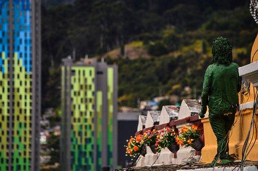 Bogota, Architecture, Candelaria, Landscape, Colombia