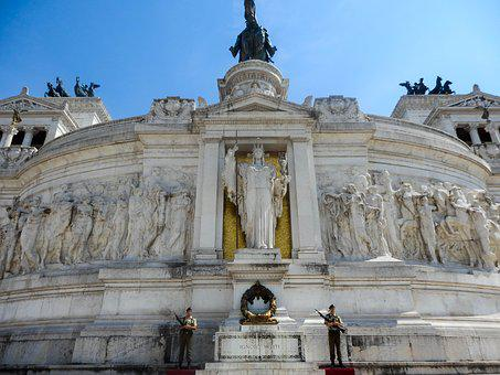 Holidays, Architecture, Rome, Tomb, The Unknown Soldier
