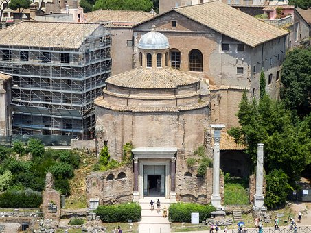 Holidays, Architecture, The Temple Of Romulus