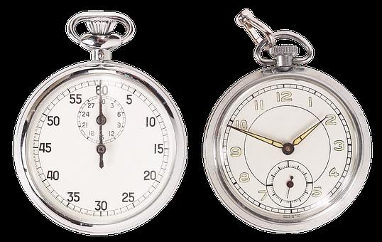 Pocket Watch, Mechanical Watch, Arrows, Dial, Time