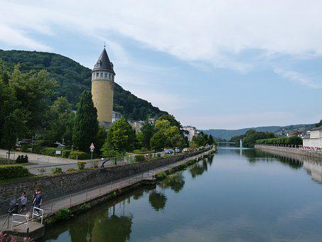 Bad, Ems, Source Tower, Lahn, The Lahn Valley, Spa Town