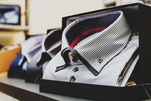 Blur, Box, Business, Checkered, Shirt, Close-up
