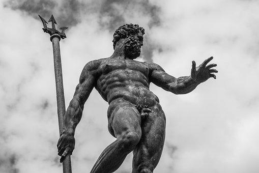 Statue, Bologna, Neptune