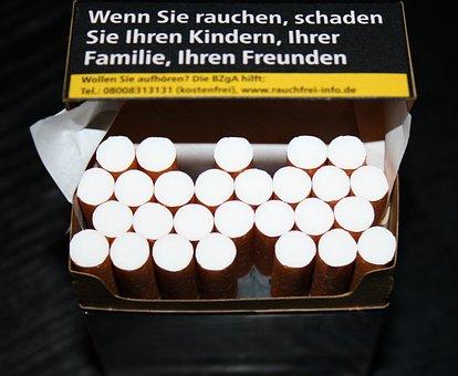 Cigarettes, Cigarette Box, Smoking, Tobacco, Addiction