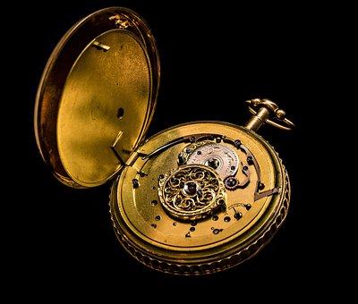 Antique, Brass, Classic, Clock, Dial, Equipment, Gold
