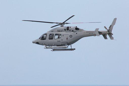 Helicopter, Navy, Flying
