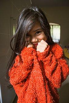 Child, Hair, Model, Girls, Beautiful Hair, Smile, Happy