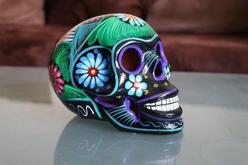 Skulls, Muertos, Mexico