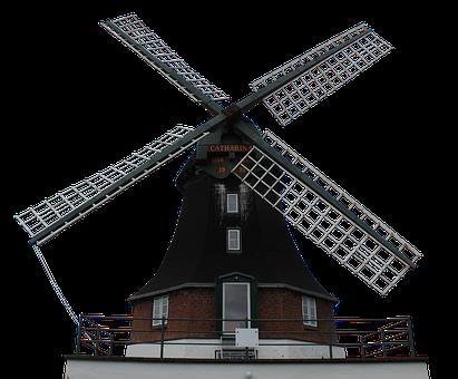 Mill, Windmill, Wing, Wood, Grind, Old, Dutch Windmill