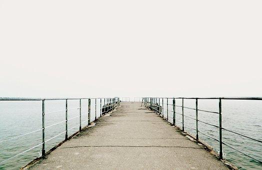 Pier, Sea, Beach