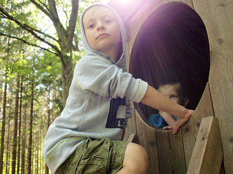 Nordens Ark, Play, Children, As, Joy, Boy, Community