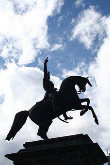 Rome, Statue, Horse