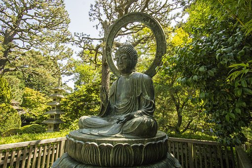 Buddha, Golden Gate Park, Asian, Francisco, San