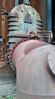 Industry, Steel Mill, Industrial Monument