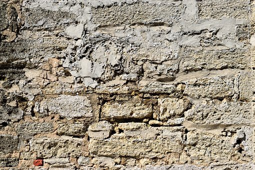 Stone Wall, Background, Grunge, Old, Historic, Vintage