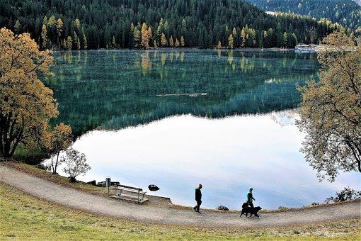 Lake, Water, Peace Of Mind, Sunrise, Morning, Haze, Way