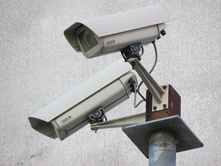 Surveillance Camera, Camera, Security, Monitoring
