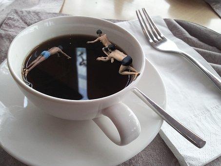 Coffee, Breakfast, Swim, Hot, Cozy, Espresso, Drink
