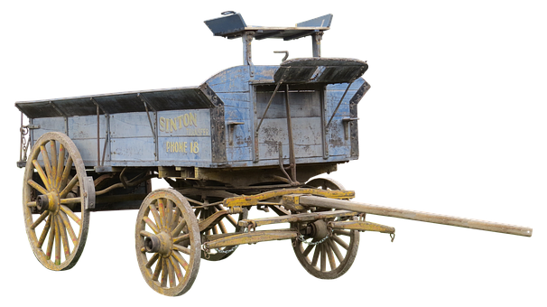 Dare, Wood Car, Usa, Agriculture, Farm