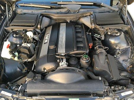 Engine, Motor, Vehicle, Bmw, Car