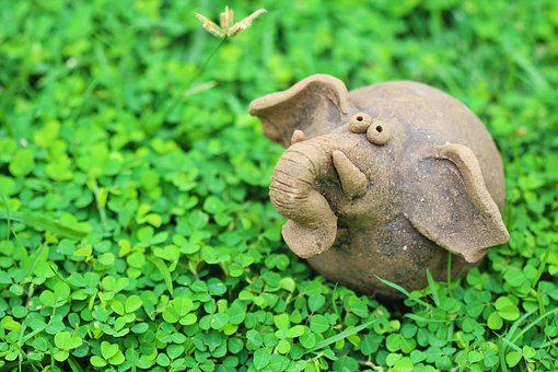 Elephant, Green, Nature, Natural, Animal, Big, Safari