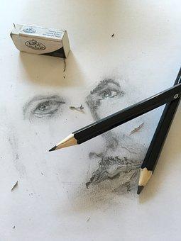 Drawing, Art, Face