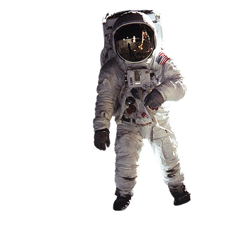 Astronaut, Isolated, Wear Protective Clothing, Nasa