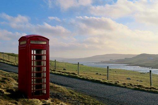 Phone Box, Scotland, Atmosphere