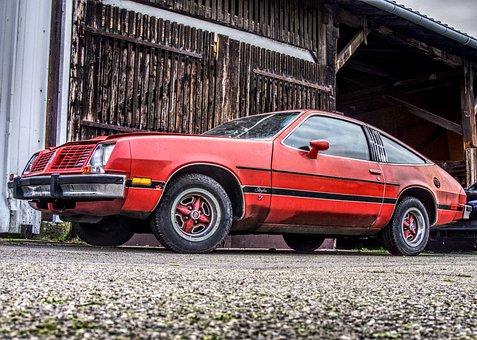 Oldsmobile, Starfire Sx, Oldtimer, Auto, Old, Broken