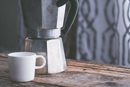 Background, Coffee, Desk, Espresso, Morning, Mug