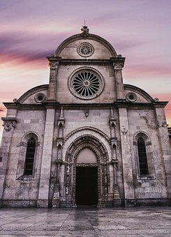 Cathedral, Church, Ancient, Architecture, Building