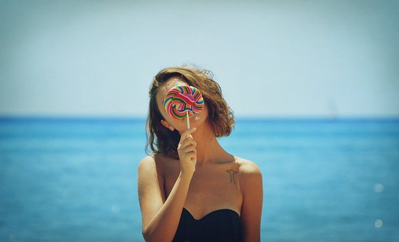 Sea, Ocean, Candy, Outdoor, Water, Nature, Summer, Blue