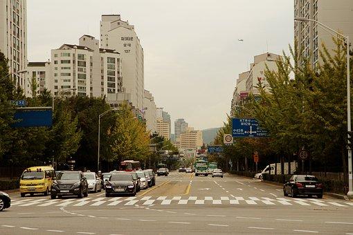 City, City Life, Crossing, Apartments