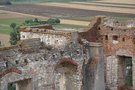 Monument, Castle, Crash, Culture, Landscape, Village