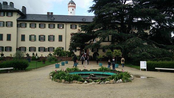 Bad Homburg, Castle, Landmark, Taunus, Schlossgarten