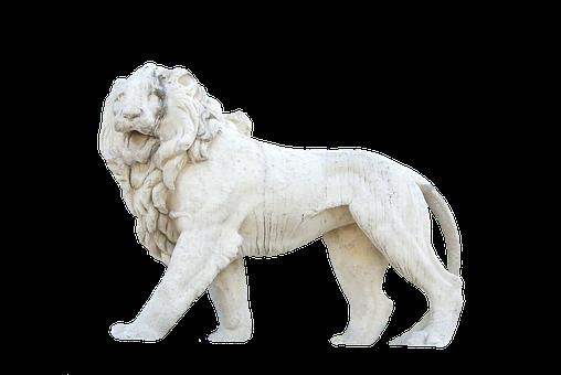 Stone Lion, Lion, Stone Figure, Sculpture, Figure