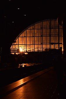 Sunset, Sun, Light, Sky, Orange, Evening Sun, Sky Sun