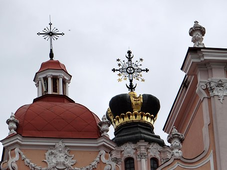 The Church Of St, Casimir, The Dome, Crown