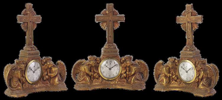 Clock, Vintage, Mantel Clocks, Mechanics, Time, Dial