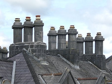 Architecture, Home, Roof, Chimney, Settlement, Ait