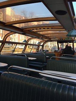 Boat-fly, Amsterdam, Peniche, Channels, Boat, Channel