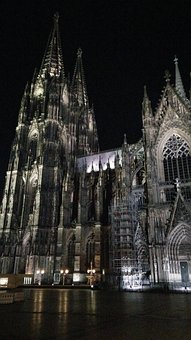 Cologne Cathedral, Landmark, Cologne, Church, Facade